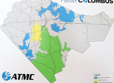 ATMC launches construction on latest high-speed internet project in Columbus