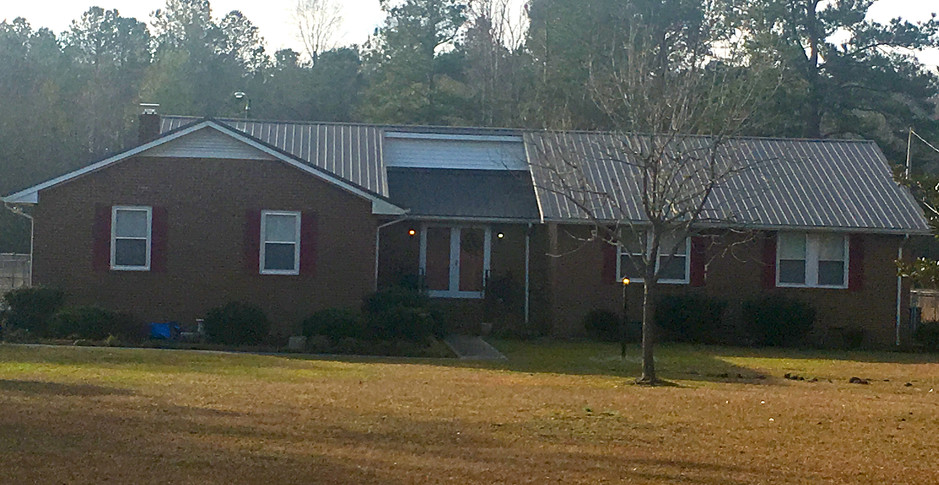 Home renovation with metal roof