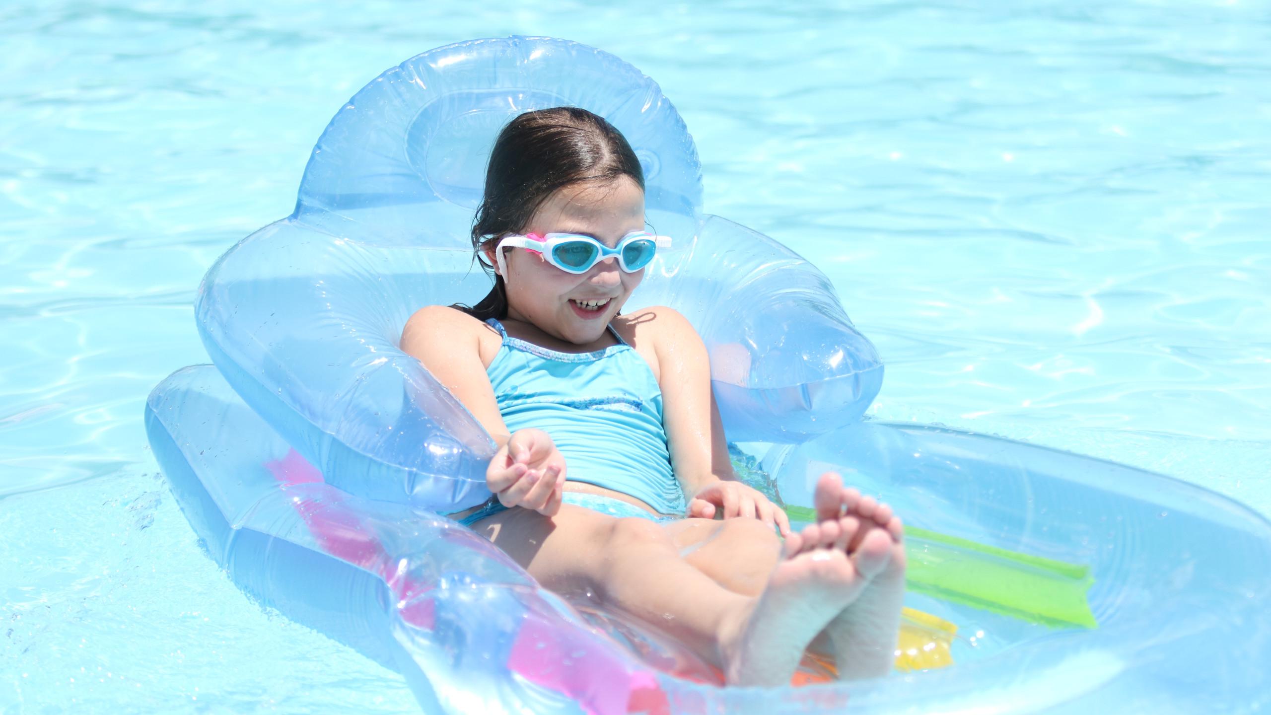 Floating along_