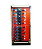 Quadro de distribuição de baterias