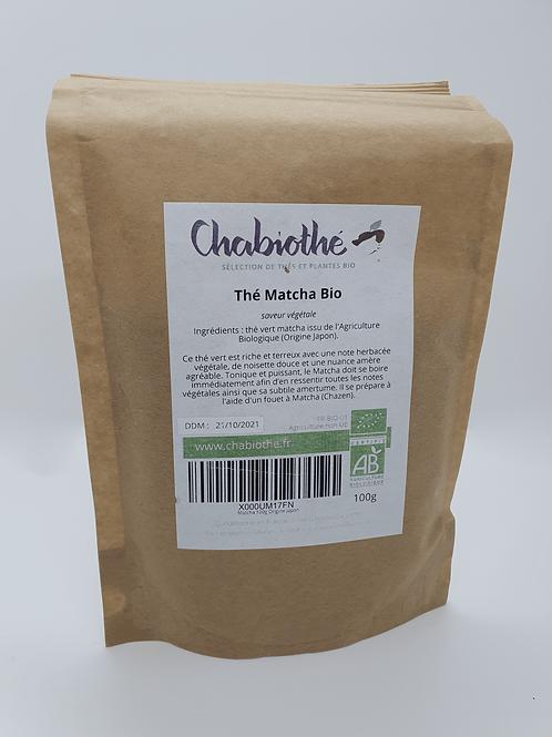 Thé Matcha Bio 100g
