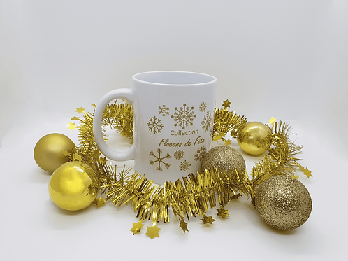 Mug Collection Flocons de Fête