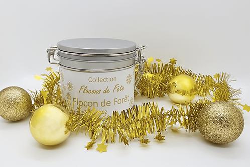 Thé Noël Flocon de Forêt n°102 - Boîte Métal 60g