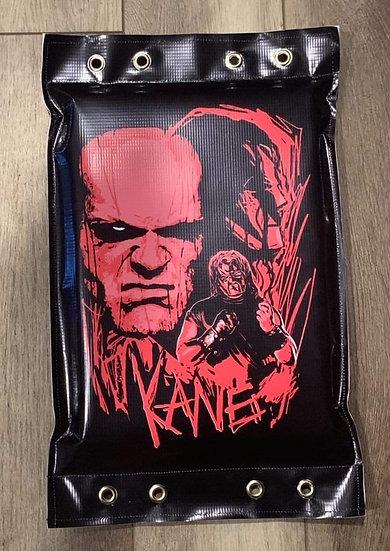 Kane Autographed Turnbuckle pad!