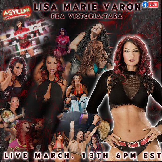 Lisa Marie Varon Live Meet and Greet andAutographed 8x10