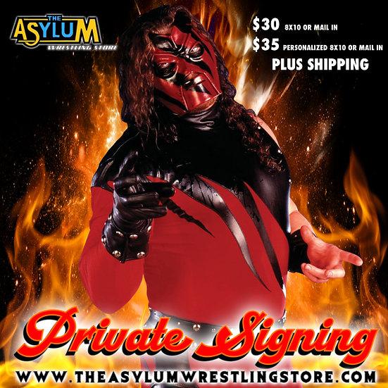 Kane Private Signing