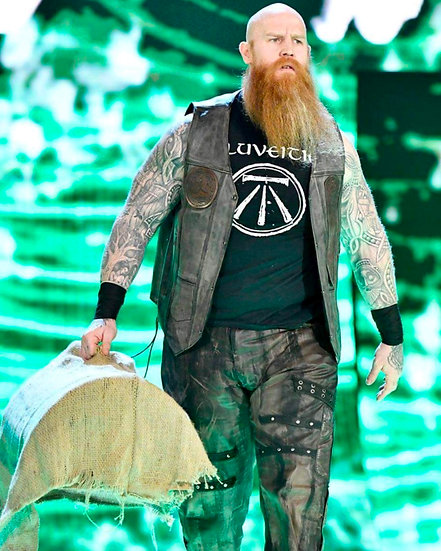 Erick Redbeard autographed 8x10 with or without meet and greet