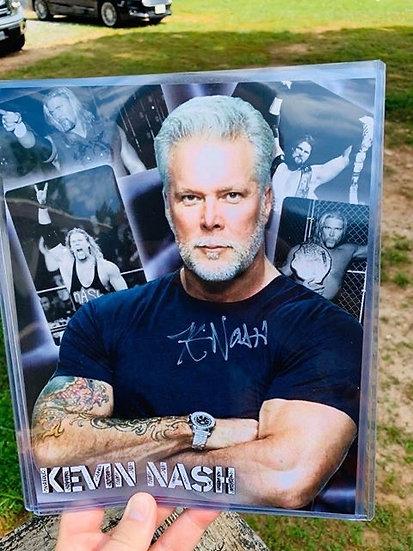 KEVIN NASH autographed 8x10