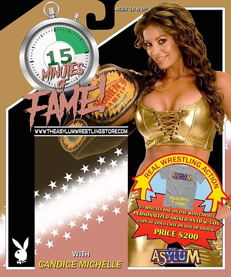 15 Minutes Of Fame! Candice Michelle