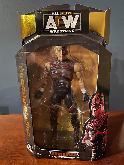 Aew unrivaled autographed Dustin Rhodes with meet and greet