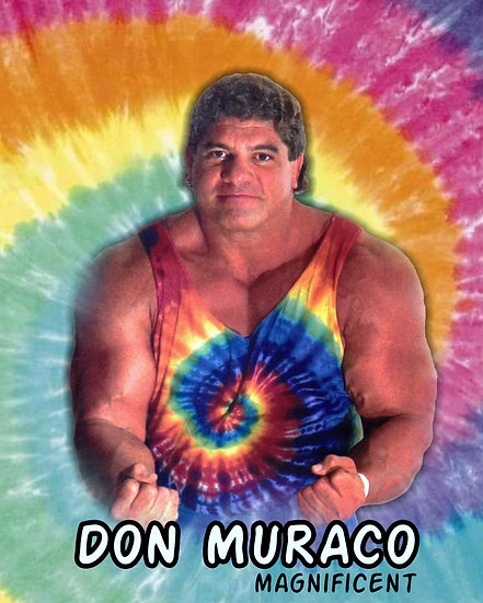Don Muraco autographed 8x10 with or Without virtual  meet and greet
