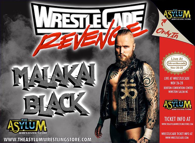 Malakai Black Live! At Wrestlecade! 11/27/21