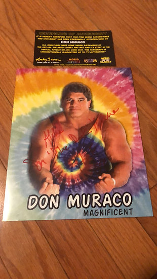 Don Muraco Autographed 8x10
