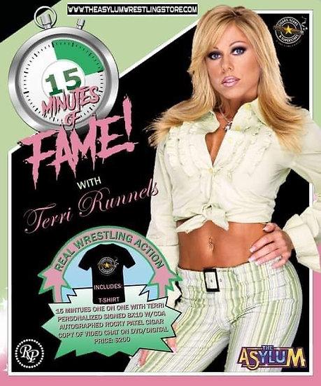 15 Minutes of Fame! Terri Runnels