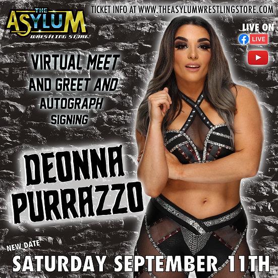Deonna Purrazzo Live Virtual Meet and Greet!