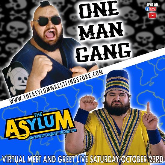 One Man Gang Live Virtual Meet and Greet