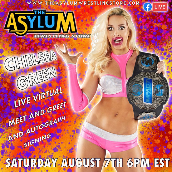 Chelsea Green Live Virtual Meet and Greet and autograph signing