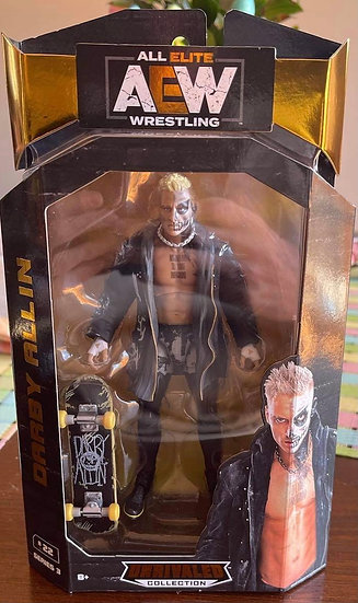 AutographedDarby Allin AEW Unrivaled Action Figure
