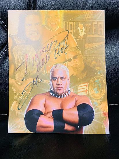 Rikishi Autographed 8x10