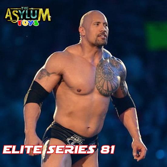 Mattel WWE Elite 81 The Rock