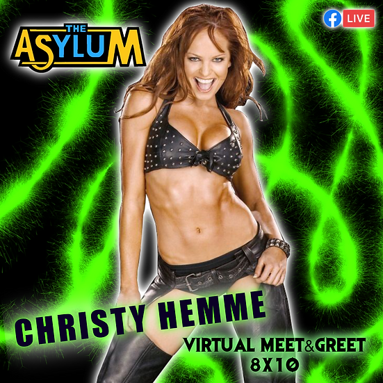 Christy Hemme Autographed 8x10