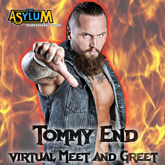 Tommy End Virtual Meet and Greet and Autograph Signing