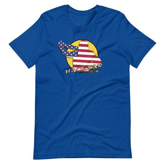 Hacksaw Asylum event Shirt