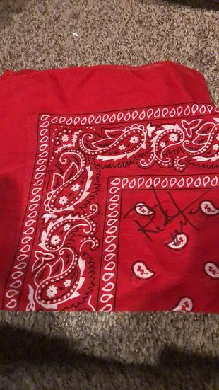 Ricky Morton Autographed Bandana
