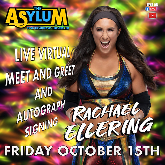 Rachael Ellering Live Virtual Meet and Greet