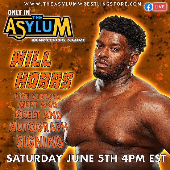 Will Hobbs Live Virtual Meet and Greet with Autographed 8x10