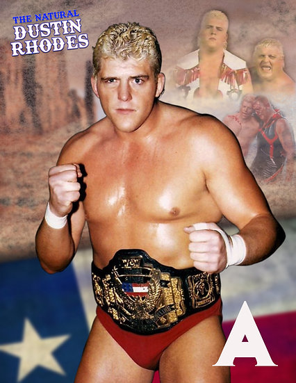 Dustin Rhodes Autograph 8x10 with or without meet and greet