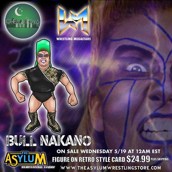 Chella Toys Bull Nakano Wrestling Megastars Action Figure