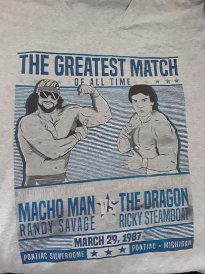 Autographed Ricky Steamboat T Shirt