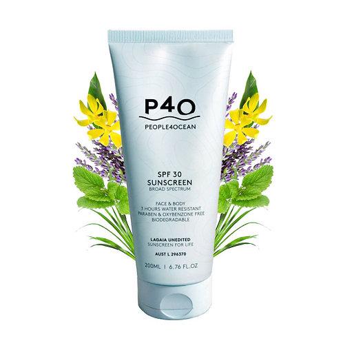 P4O SPF 30 natural Sunscreen