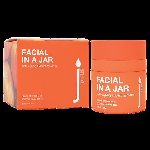 Facial in a Jar exfoliating mask