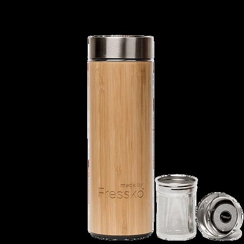 Bamboo infuser flask 450ml