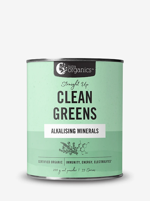Straight Up Clean Greens