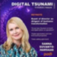 sanna suvanto harsaae digital tsunami su