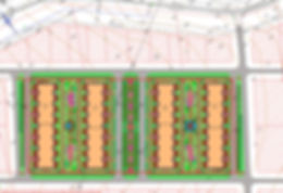 Планировка территории группы жилых многоквартирных домов в Антоновке