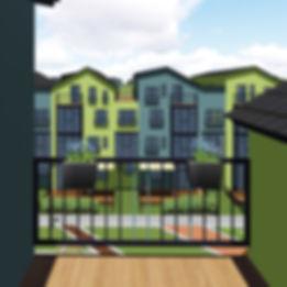 Многоквартирные дома в Антоновке включают в себя двухуровневые квартиры с террасами