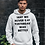 Thumbnail: may we never say yesterday was better white hoodie