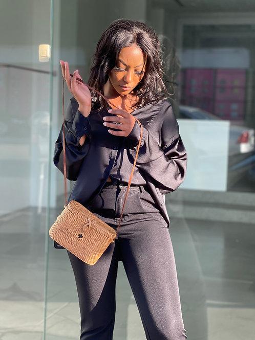 unique brown purse