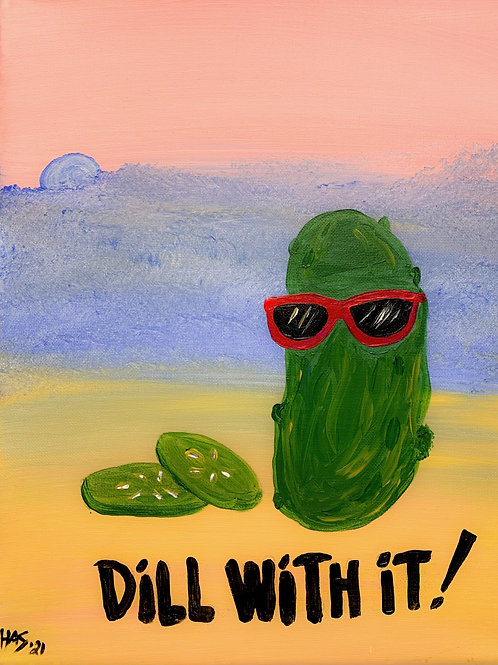 1 Day Camp: July 7th. Dill With It Painting!