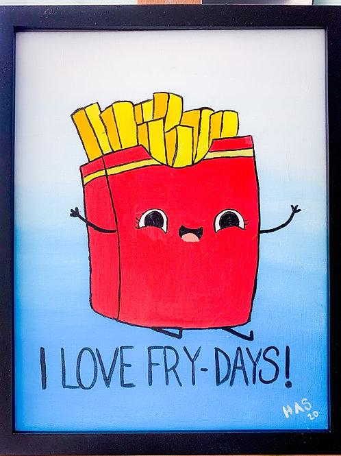 "February Art Camp: Fri Feb 26th ""I Love Fry-Days"""
