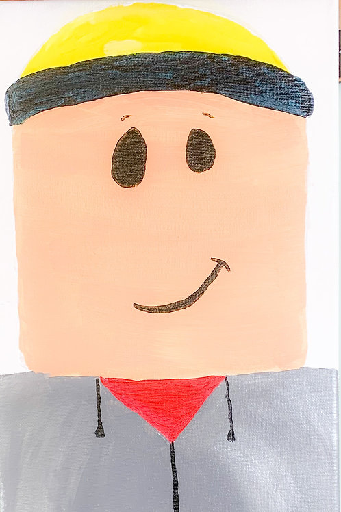 1 Day Camp: June 23rd. Roblox Painting!