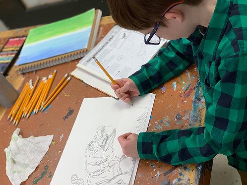 FUN-damentals of Drawing- In Studio