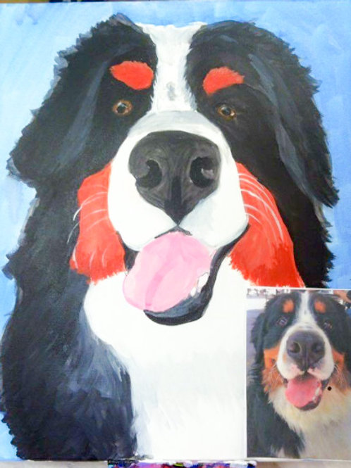 Paint Your Pet! Sat Jan 16th 4pm-6pm
