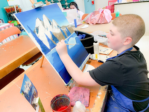 Aspiring Artists: Fine Art Program: Nov 19th- Jan 28th