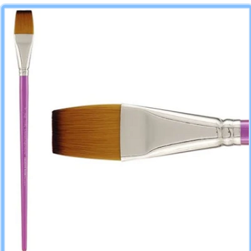 Background Wash Brush- Long Handled
