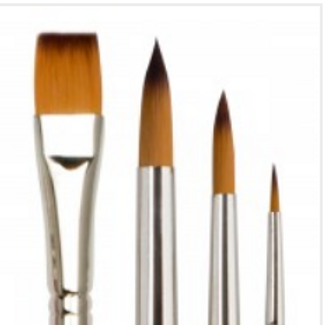 4 Piece long handled brush set